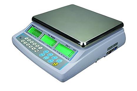 AE ADAM CBD 4 Báscula de Entrada Dual con Capacidad de 4 kg y Legibilidad de
