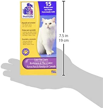 The Fault In Our Stars Bankje.Amazon Com Petmate Boxed Cat Litter Pan Liners 15 Count Medium