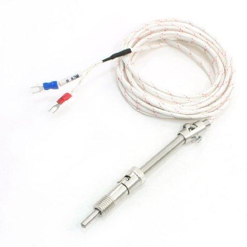eDealMax Ressort de Tension Type K Thermocouple capteur de temprature, 9,8'