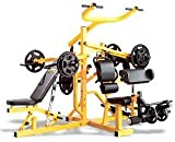 Powertec WB-MS Workbench Multi System (Yellow) Powertec Fitness