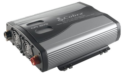(2) Cobra CPI1575 1500 WATT DC to AC Car Power Inverters w/ 3 Outlets & USB Port
