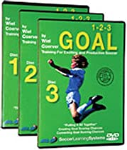 Wiel Coerver 123 Goal Training For Exciting and Productive Soccer 3 DVD Set  Directed by Wiel Coerver