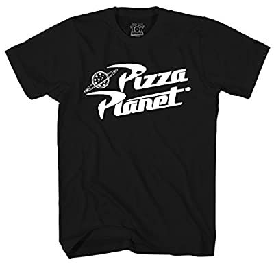 Disney Toy Story Pizza Planet Logo Men's Adult Graphic Tee T-Shirt