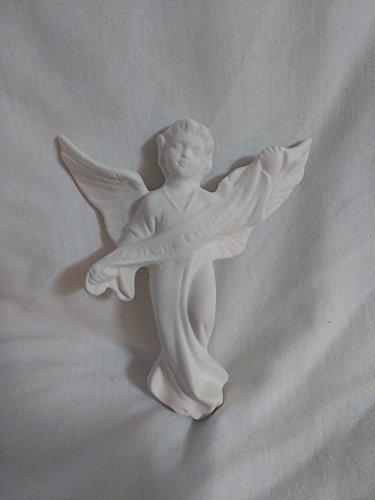 Vintage Atlantic 21 piece Nativity 5'' to 7'' Ceramic bisque by Creative Kreations Ceramics (Image #4)
