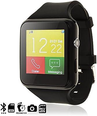 DAM TEKKIWEAR. DMX025BLACK. Smartwatch X7 con Cámara ...