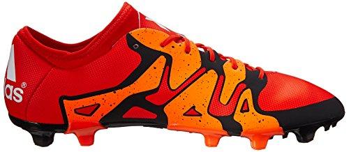 Mens Prestazioni Adidas X 15.2 Fg / Ag Tacchetto Calcio Audace Arancione / Bianco / Arancio Solare