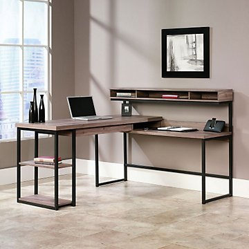 "OFF! Transit L-Shaped Modern Computer Desk - 61""W x 59""D image"