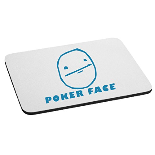 JDM Funny Poker Face Cartoon Meme Mouse Pad - - Cartoon Face Poker