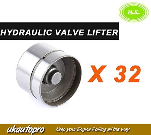 32 PCS Hydraulic Valve Lifters For BMW 540 735 740 840 X5 Z8 V8 M62 11321440256