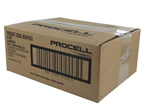 Duracell Procell C Alkaline Battery PC1400-72 per case. by Procter And Gamble