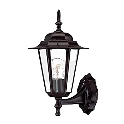 Acclaim 6101ABZ Camelot Collection 1-Light Wall Mount Outdoor Light Fixture, Architectural Bronze