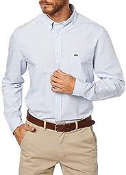 Camisa Regular Fit, Lacoste, Masculino