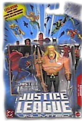 Mattel Justice League Unlimited Aquaman Action - League Mattel Justice Unlimited
