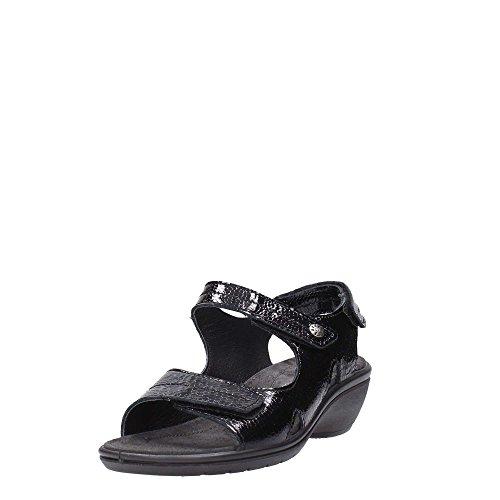 ENVAL - Sandalias de vestir de Piel para mujer negro negro - negro