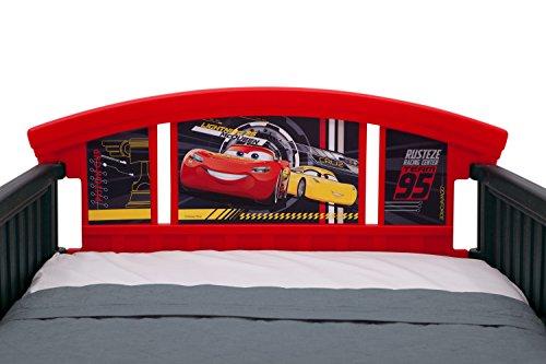 Delta Children 3D-Footboard Toddler Bed, Disney/Pixar Cars 3 5