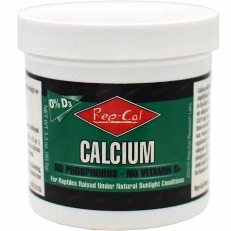 ThePetStop RepCal 0 D3 Calcium No Phosphorus No Vitamin D3 (3.3oz)