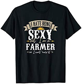 Cool Gift Farmer Quotes I Farmer Outfit I Farmer  I Outfit Women Long Sleeve Funny Shirt / Navy / S - 5XL