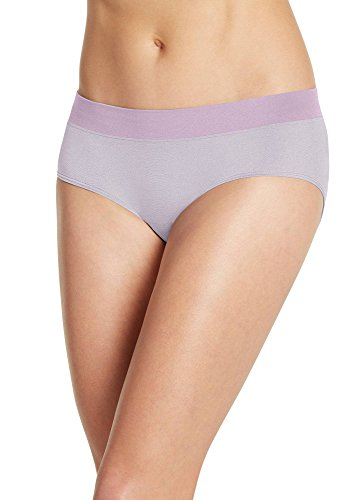 Jockey Women's Underwear Modern Micro Seamfree Hipster, Violet Mist, - Panty Jockey Microfiber