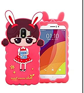 1e4126cd1 Aarnik Baby Nice Doll Silicon Case Soft Back Cover for Samsung Galaxy J4  (Special Pink