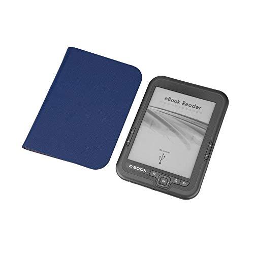 [해외]6-inch E-Ink Ink Screen E-Book ReaderClockDictionaryCalendarDictionaryCalculatorCartoon 4G E-Book Reader Best Gift for Chidren E-ReaderWaterproof Blue Cover / 6-inch E-Ink Ink Screen E-Book ReaderClockDictionaryCalendarDictionaryCa...