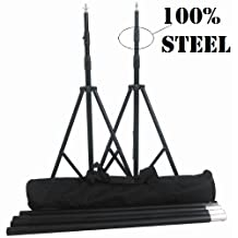 CanadianStudio Pro Heavy Duty 10'x 10' Background Support Backdrop steel Stand Kit