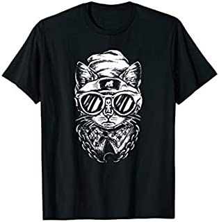 Hiphop Cat  Cool Cat Funny Gift Kitty Lover T-shirt | Size S - 5XL