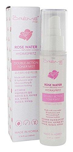- The Crème Shop - Rose Water Double-Action Toner Mist