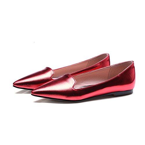 ligeros planos Zapatos zapatos zapatos Joker Europeo puntiagudos de D Primavera AxUfcqgx