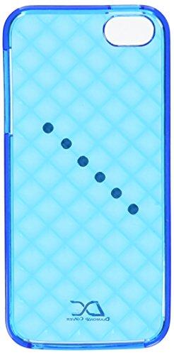 Diamond Cover 305093 Retro Handy Case mit Kristallen von Swarovski für Apple iPhone 5/5S blau