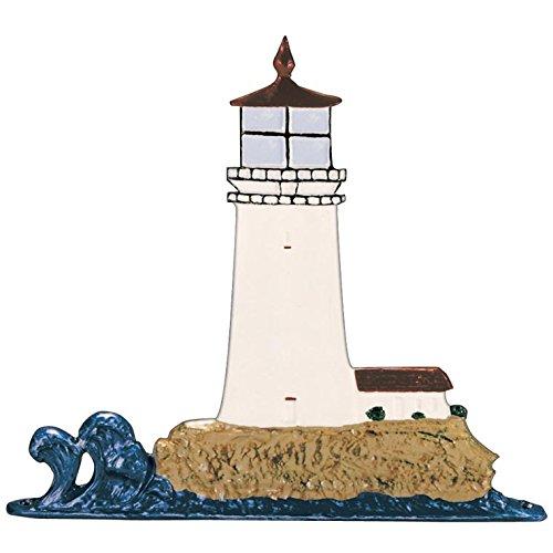 SKB family Whitehall Address Sign Ornament - Lighthouse, 9.75