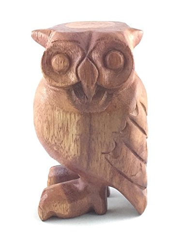 Groove Masters Percussion 6 Wooden Whistling Owl B-OWL6L