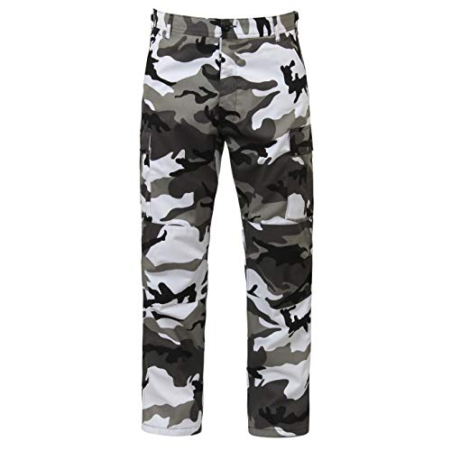 Mens Pants - Military BDU, City Camo, Small by Rothco
