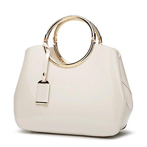 de black Design sac soirée Sac forme 22cm 5 à YANX Ladies élégant 28 coquille sac main White 10 5Yaw1U