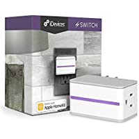 iDevices Switch - Wi-Fi Enabled Plug Works with Apple HomeKit and Amazon Alexa by iDevices