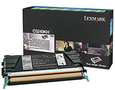 - Lexmark C534-1-High Return Program Black, 8000 Yield