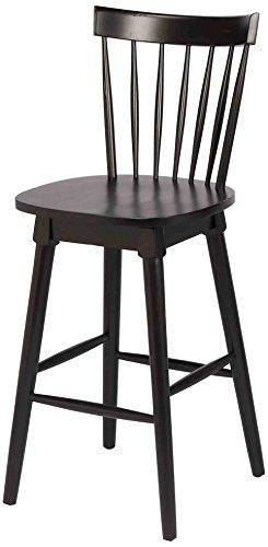 Elise Bar Height Swivel Stool, Black (Stools Windsor)