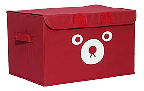 Katabird Storage Bin for Toy Storage, Collapsible Chest Box Toys Organizer with Lid for Kids Playroom, Baby Clothing, Children Books, Stuffed Animal, Gift (My Amazon Order So Far)
