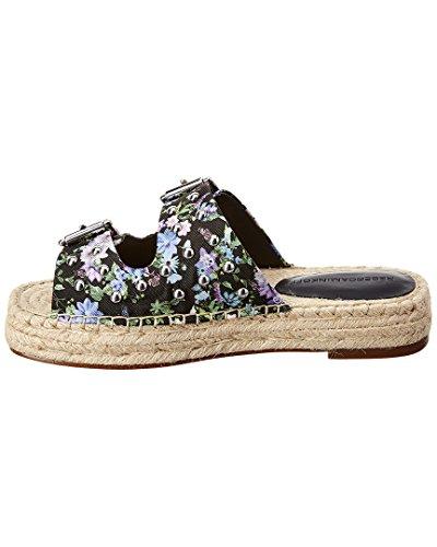 Floral Silk Jodi Rebecca 7 5 Garden US Minkoff Women's Black M xYXXEwPqC