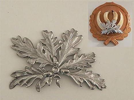 GTK Geweihe /& Troph/äen Krumholz 1/ornamento a forma di foglie di quercia per armi per la caccia al cinghiale 6 foglie