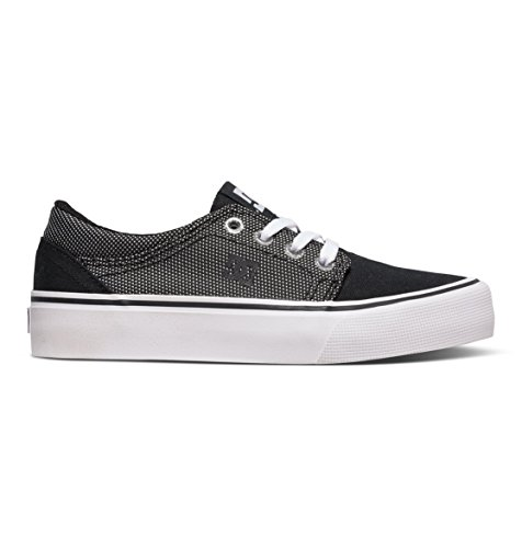 Dc Shoes Trase Tx Se Zapatillas De Caña Baja, Color: Black/Glow, Size: 28 EU (11 US / 10 Child UK)