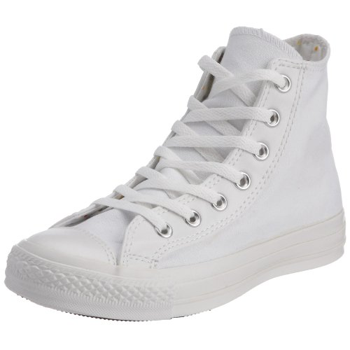 Converse Chuck Taylor All Star - Zapatillas de tela, unisex Blanco/Negro (White/Black)