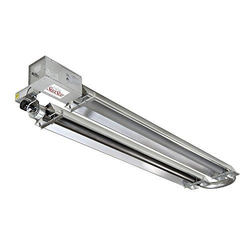 (SunStar Natural Gas Heater Infrared Vacuum U-Tube Tough Guy, 125000 Btu 30L)
