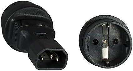 Dispositivi a freddo-Cavo di alimentazione 2m Nero Protezione Contatto Spina A DISPOSITIVI A FREDDO presa