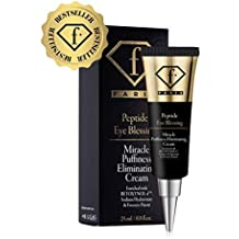 Fashion TV Cosmetics Puffy Eye Treatment Blessing Miracle Puffiness Eliminating Cream F Paris Enjoyllery Peptide Naturally Eliminate Wrinkles, Puffiness, Dark Circle and Bags in Minutes