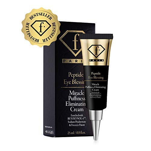 (Fashion TV Cosmetics Puffy Eye Treatment Blessing Miracle Puffiness Eliminating Cream F Paris Enjoyllery Peptide Naturally Eliminate Wrinkles, Puffiness, Dark Circle and Bags in Minutes)