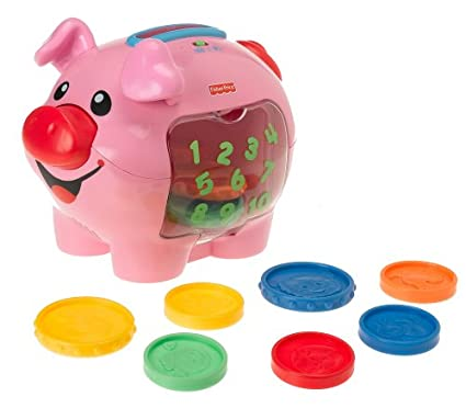 Fisher Price Laugh U0026 Learn: Learning Piggy Bank