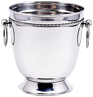 Old Dutch International Champagne Bucket, Stainless Steel