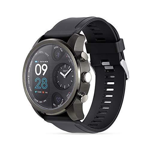 T3 Herren Smart Watches Dual Time IPS Smartwatch IP68 Wasserdicht Sport Herzfrequenz Monitor Blutdruck IOS Android…