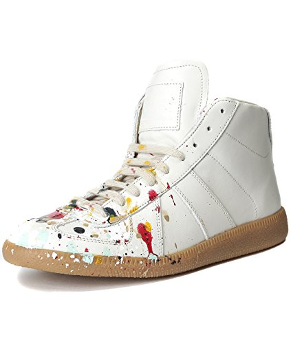 martin-margiela-mens-paint-splattered-high-top-sneakers-42-white