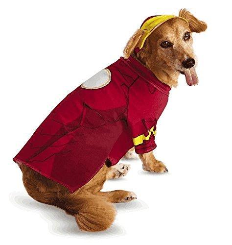 Iron Man Pet Pet Costume - Medium ()